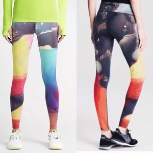 Nike💕Lava Forever Run Rainbow Multi Lux Leggings